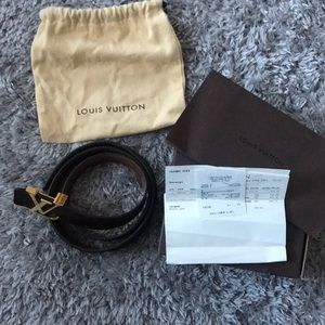 Louis Vuitton belt  monogram  size 100